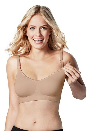 Maternity Body Silk Seamless Nursing Bra