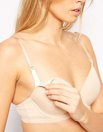 Hot Milk Women's Forever Yours Nursing and Maternity T-Shirt Bra
